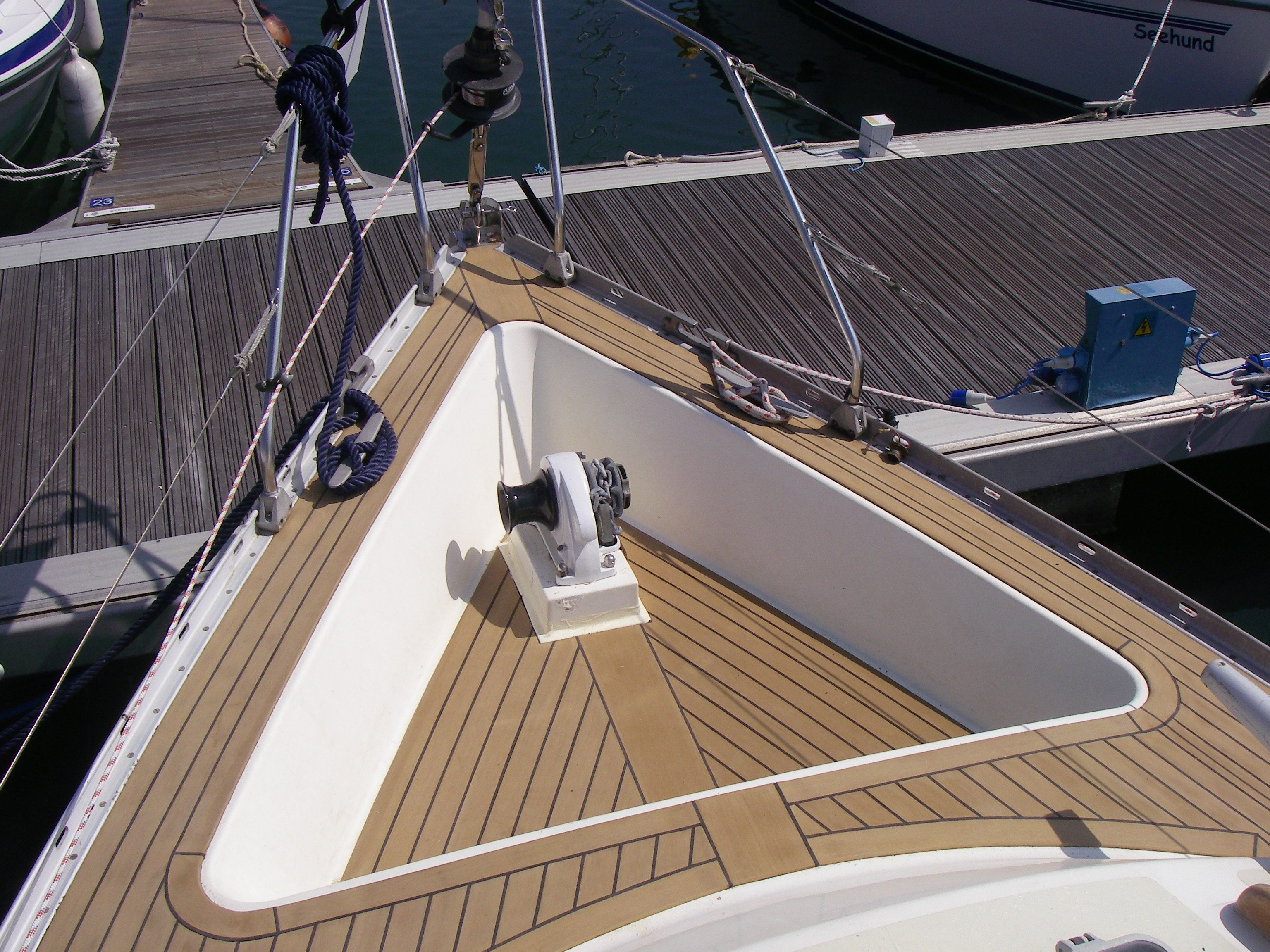 Deck Board For Floor Of Boat , Boat Flooring Options