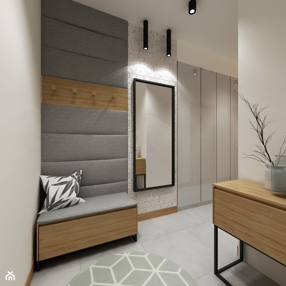 Hol Przedpokoj Styl Skandynawski Home Entrance Decor Home Room Design Luxury Living Room Design