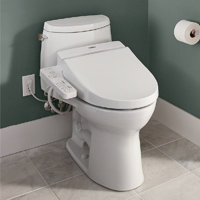 Toto Washlet A100 Elongated Toilet Seat Bidet Washlet Elongated