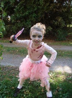 easy zombie princess costume idea  zombie princess