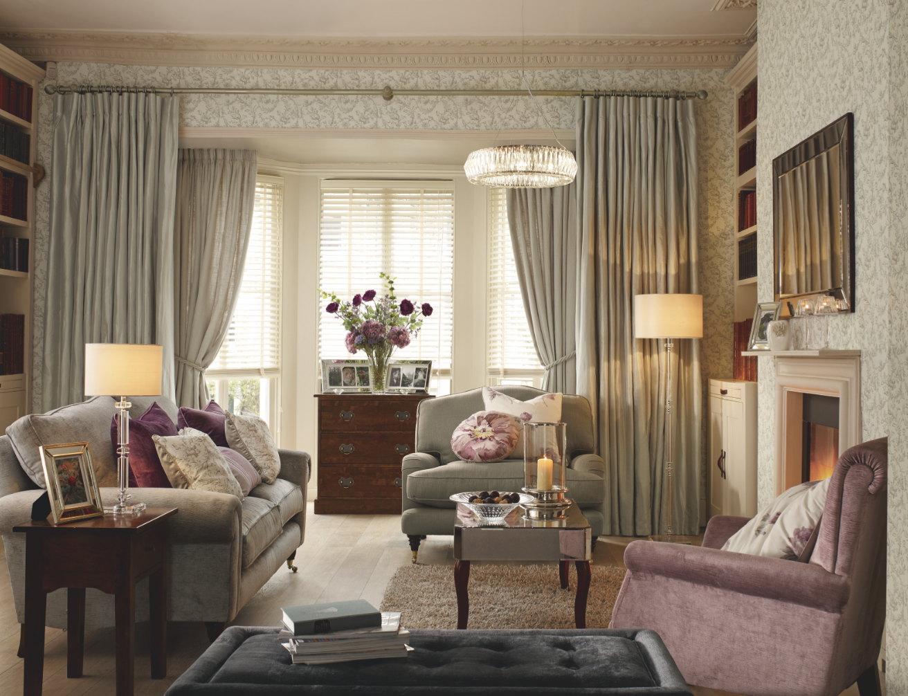 Peony Amethyst Collection Home Pinterest Peony Amethysts - Laura ashley living room purple