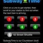 MTA Subway Time, An App For the New York City Subway