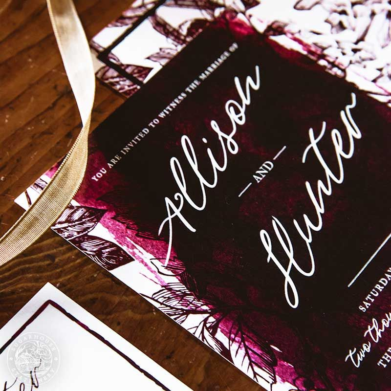 Easton grade a invitation suite stationery designs inspired by the wedding invitation design company specializing in invitation suites save the dates day of pieces and custom stationery design services stopboris Images