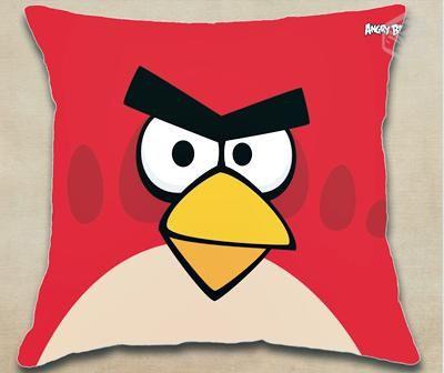 Almofada Personalizada Angry Birds www.almofadartes.com