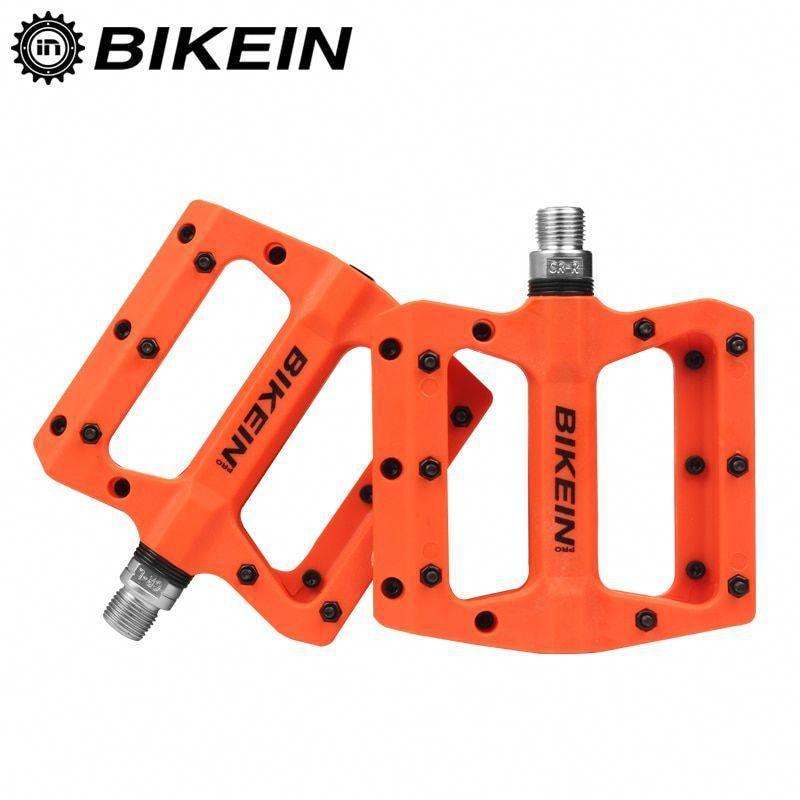 MTB Bike Pedal Mountain Bicycle Pedals BMX Platform Pedal Nylon Sealed Bearing