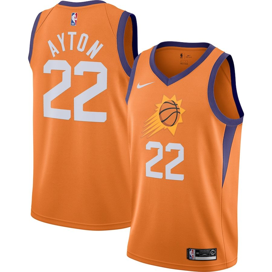 Men S Phoenix Suns Deandre Ayton Nike Orange Finished Swingman Jersey Statement Edition In 2020 Phoenix Suns Phoenix Suns Basketball Nba Store