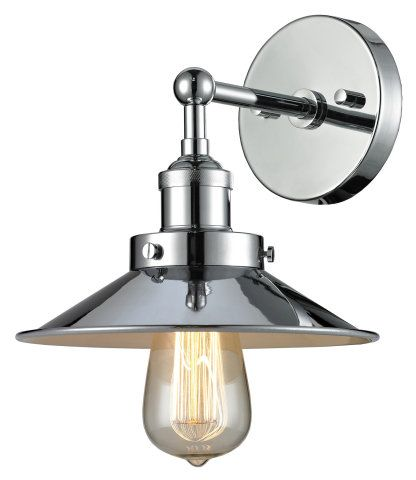 Single Light Industrial Wall Sconce Wall Sconces Ceiling
