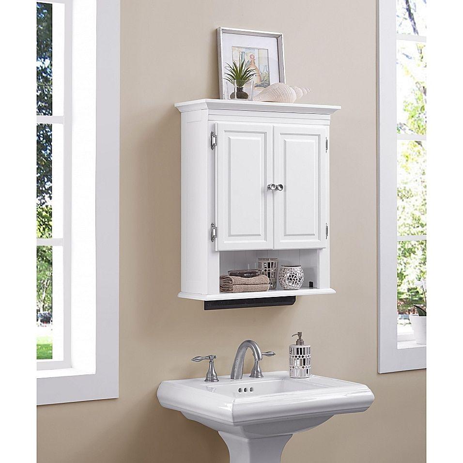 Wakefield No Tools Wall Cabinet Bed Bath Beyond Wall Cabinet Wall Mounted Cabinet Bathroom Essentials