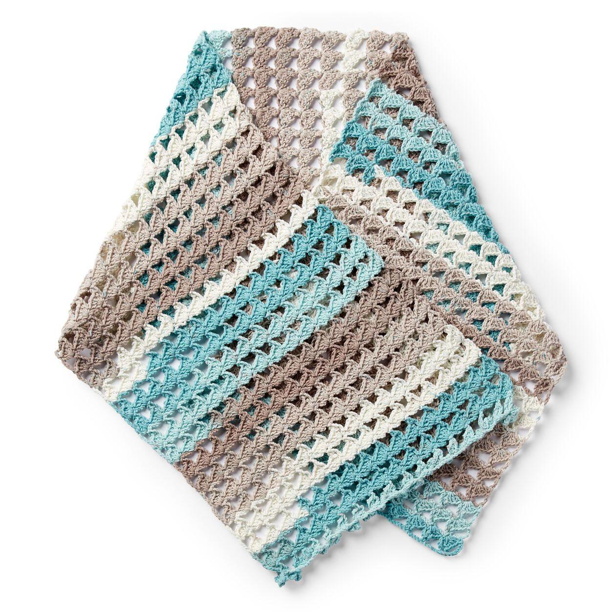Caron crochet shell shawl shawl crochet pattern easy