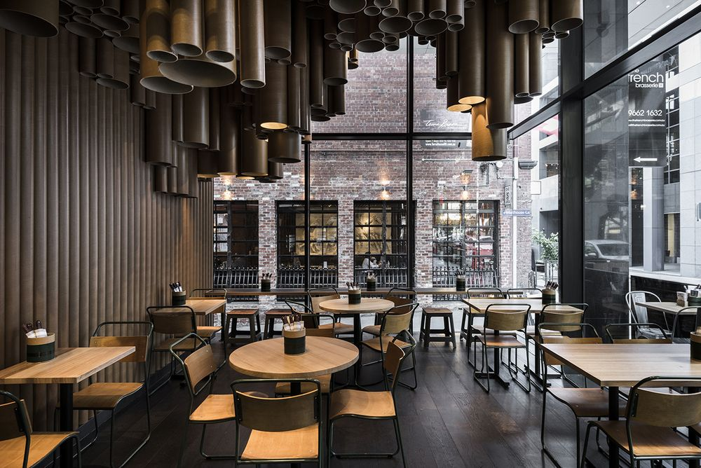 Techne Makes Quirky Use Of Low Cost Materials At Grillds New Melbourne Restaurant