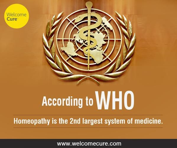 WHO position on homeopathy