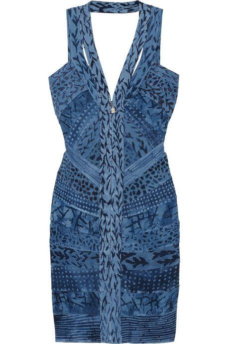 4937ed6585722 Hervé Léger Printed bandage dress. Hervé Léger Printed bandage dress  Discount ...