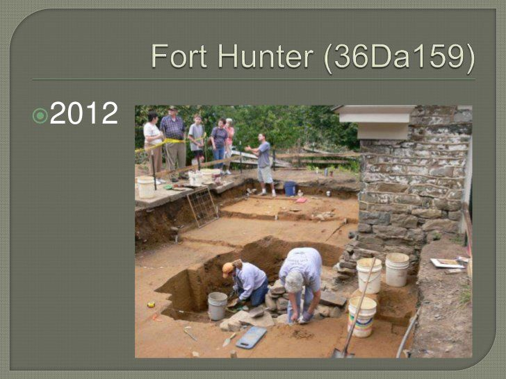 Fort Hunter Archaeology 2012