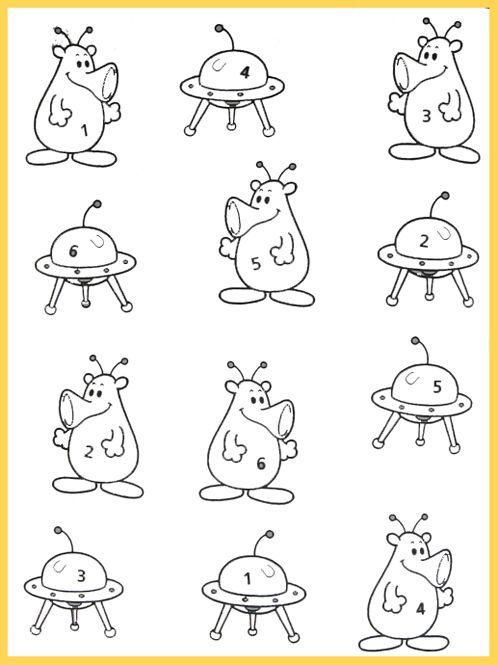 Развивающие раскраски «Космос» | Раскраски, Обучение детей ...
