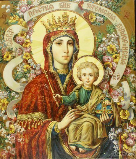 Икона Богородицы Тотемская-Суморинская