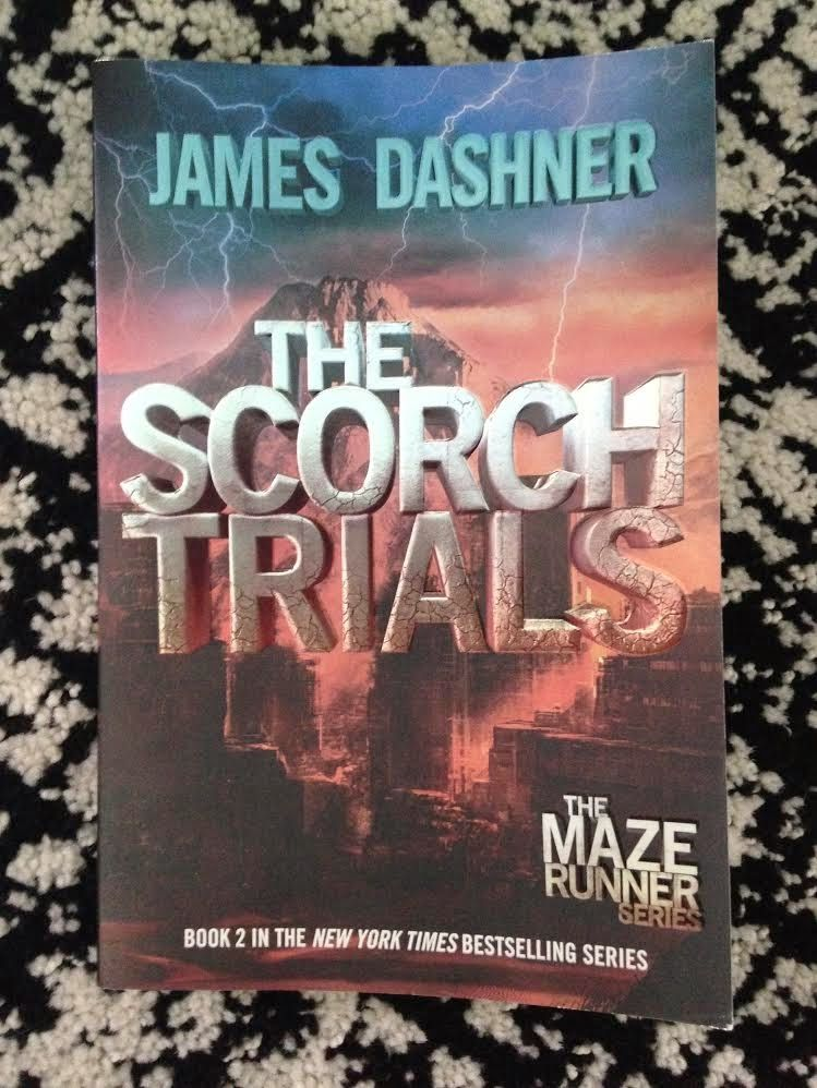 The Scorch Trials By James Dashner 2nd Maze Runner Book This Has