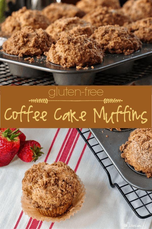 Gluten Free Coffee Cake Muffins Recipe Gluten free