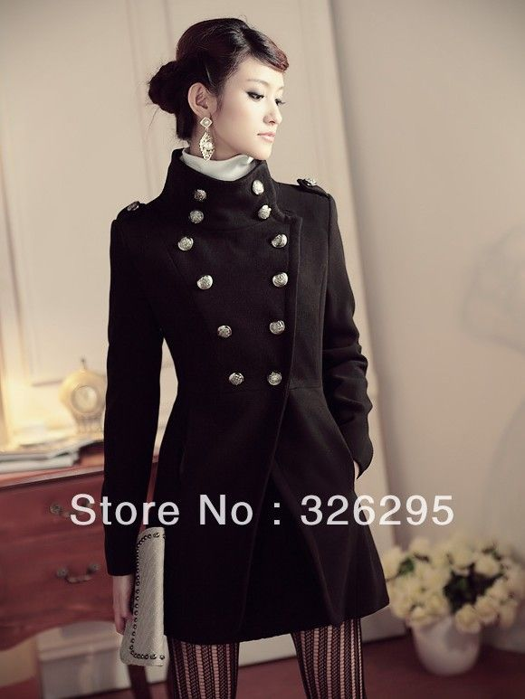 Womens pea coat on sale | Style | Pinterest | Sailor fashion, Navy ...