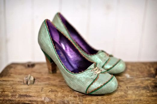 Jade coloured wedding shoes – photography http://www.mark-tattersall.co.uk/