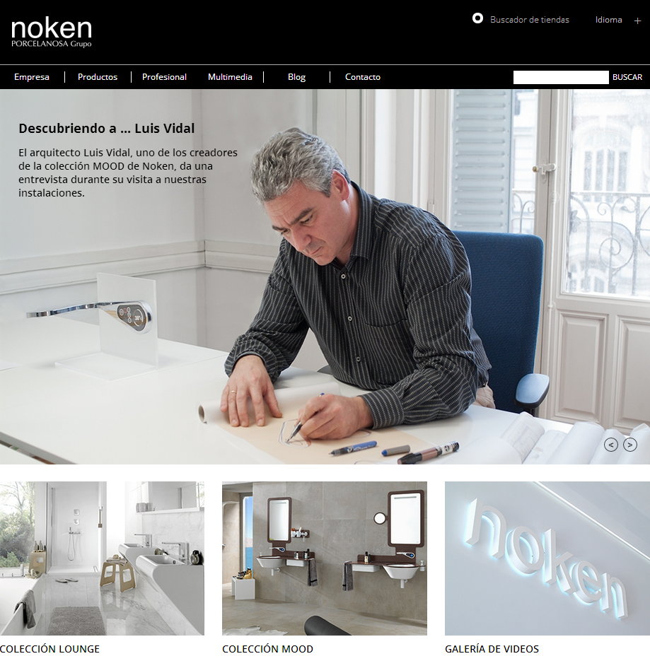 Noken presents its new website and channels on main social media sites