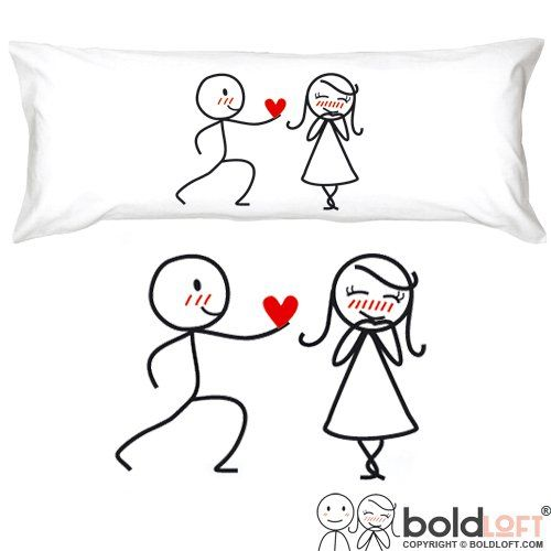 long distance relationship gifts pillow cases