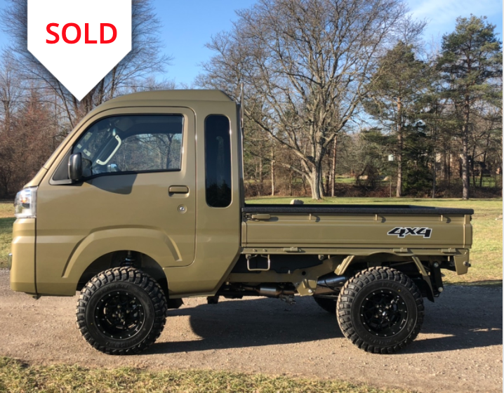 Sold 2020 Daihatsu Hijet In 2021 Daihatsu Cab Mini Trucks