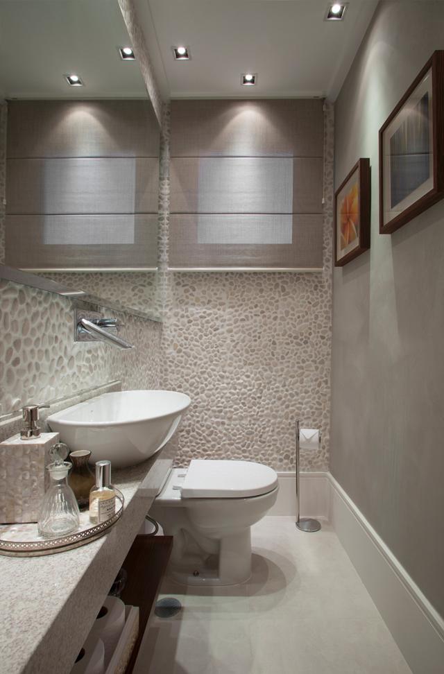 Decor salteado blog de decora o e arquitetura lavabos - Lavabos modernos pequenos ...