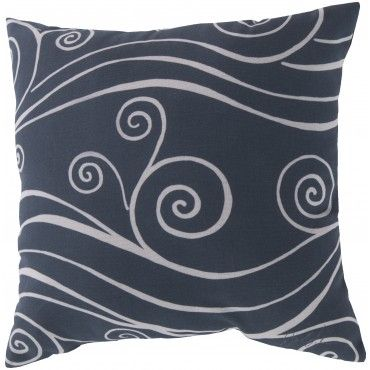 The Delicate Swirls On This Pillow Add Movement And Fun To Any Home Decor Blue Throw Pillows Throw Pillows Pillows