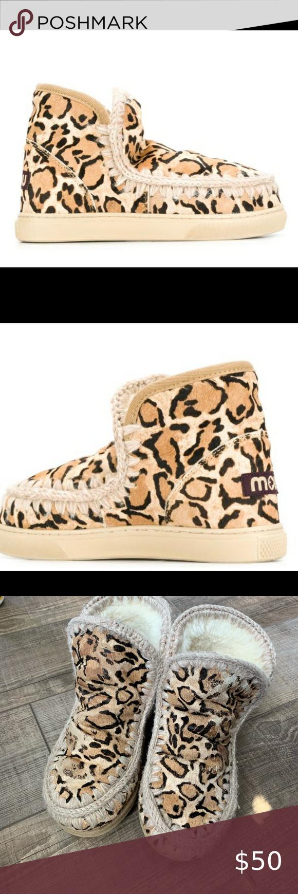 Mou leopard Eskimo boots in 2020