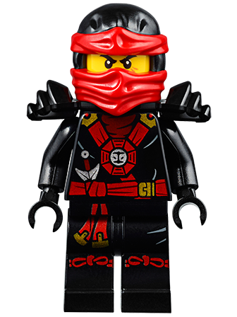 2015 from 70747 LEGO® Ninjago™ Cole Minifig Zukin Robes with Twin Blades