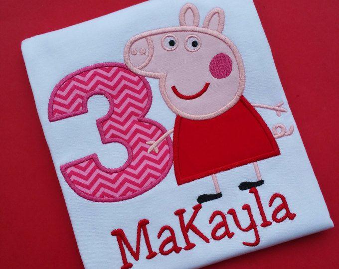 Camicia di Peppa Pig compleanno