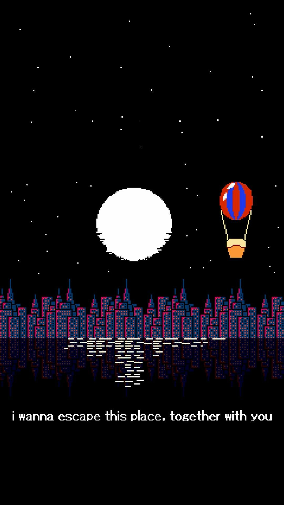 Pin By April West On 8 Bit Art Quotes Deep Dark Pixel Art Aesthetic Wallpapers