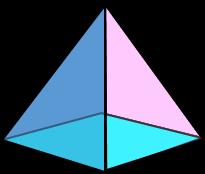 3d Square Based Pyramid Image Teaching Geometry Geometry Math Geometry