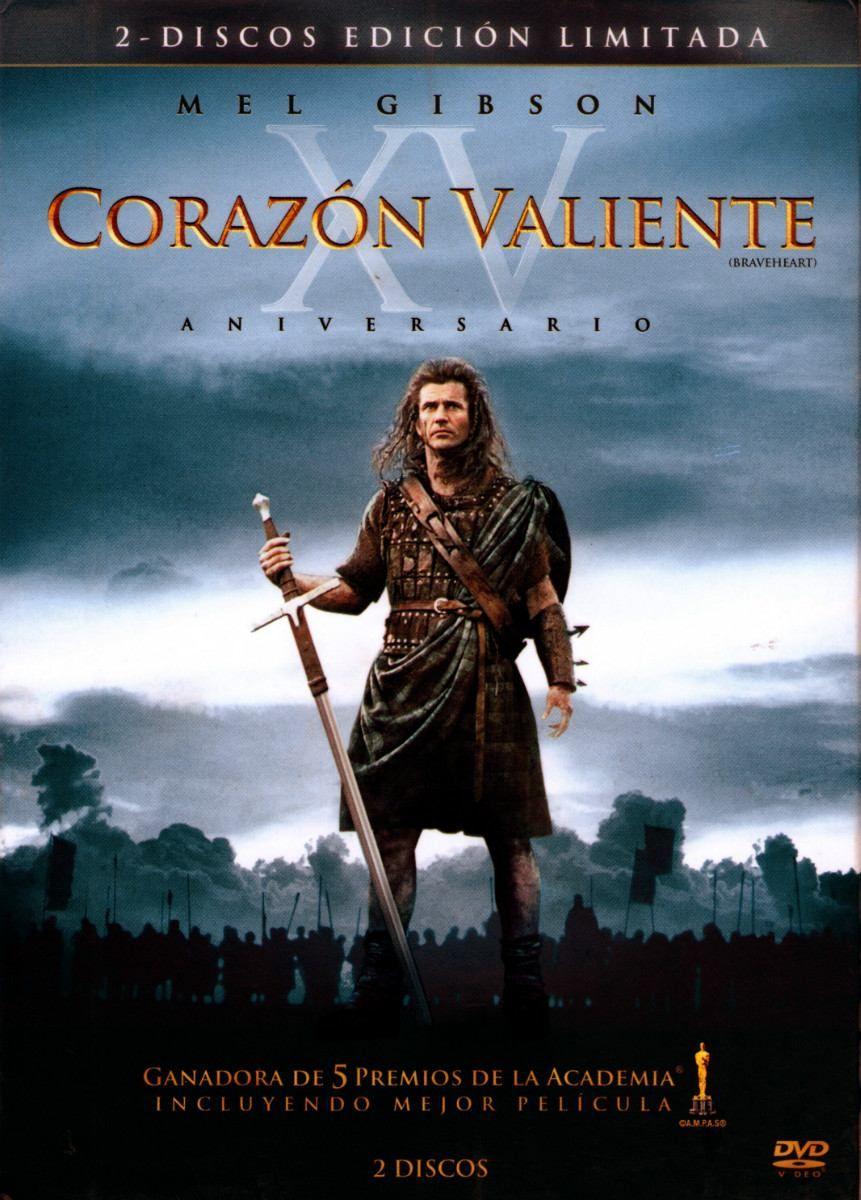 Corazón Valiente 1995 Braveheart Mel Gibson Good Movies