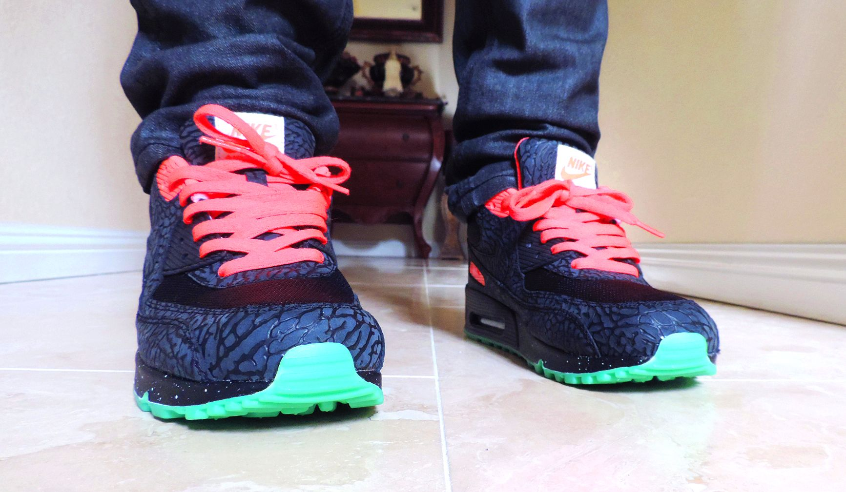 sale retailer 85e91 8c642 ... switzerland 3lab90 x yeezy 2 air max 90 id deisoned by niclacoste nike  airmax airmax90 sneakers