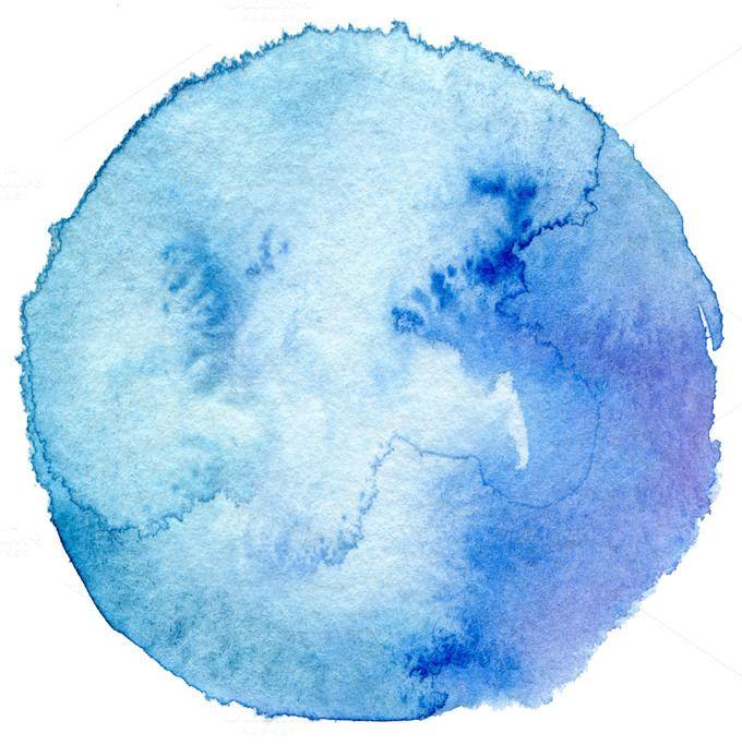 Circle watercolor | Watercolor circles, Abstract watercolor, Watercolor  splatter