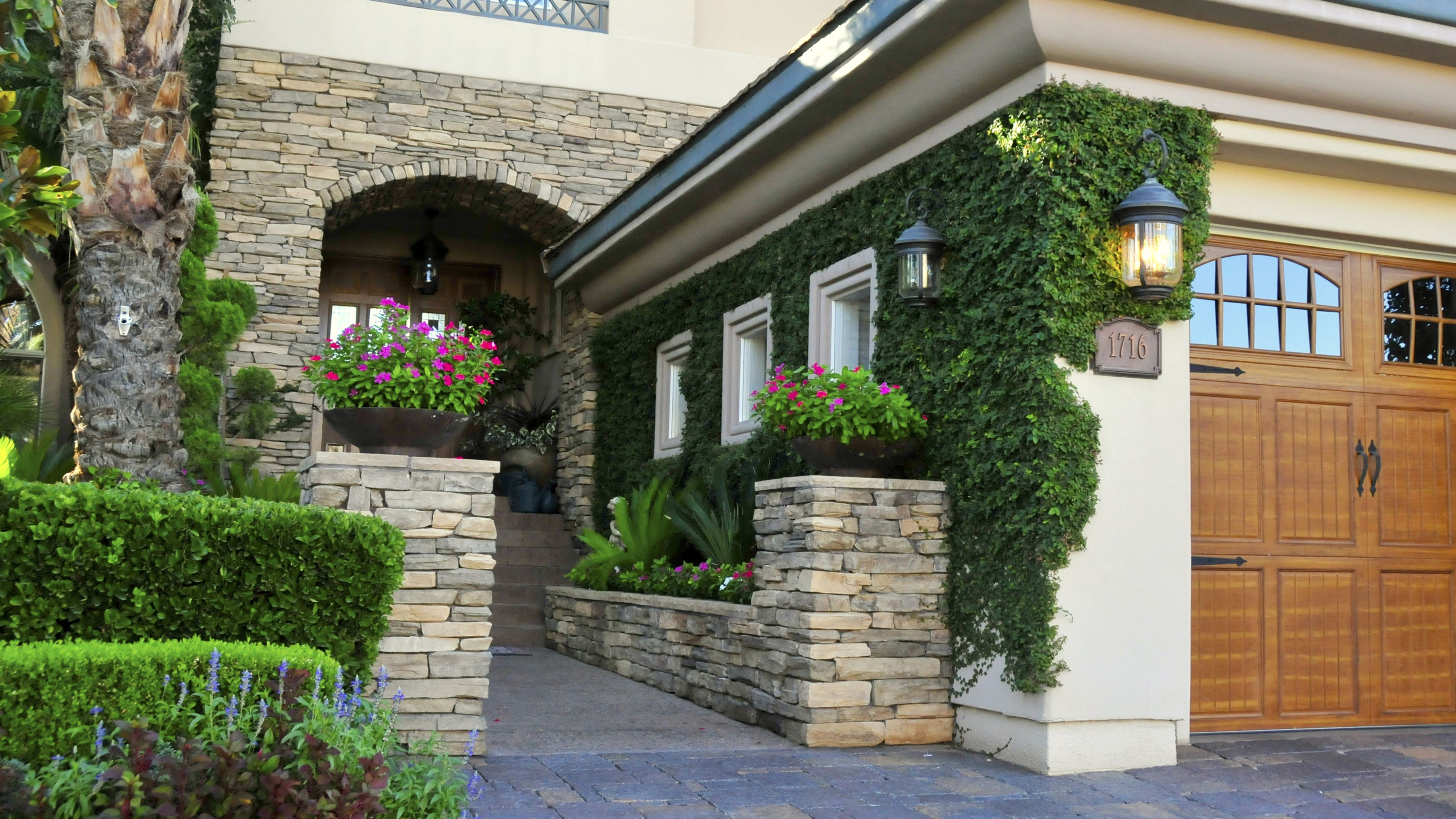 custom landscaping by chip
