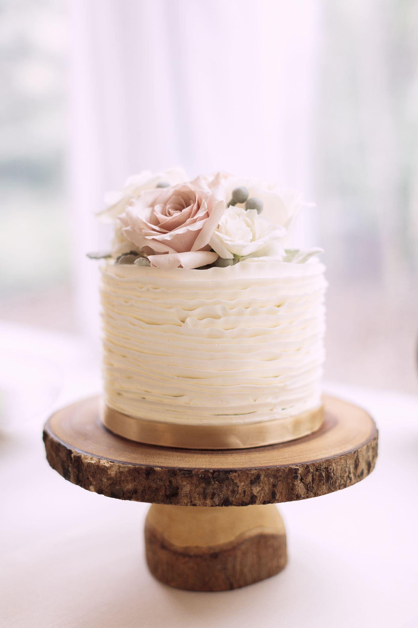 Blush Flower Cake Www Nicolesarah Com Ombre Cake Blush Rosequartz Pink Simple Wedding Cake Wedding Cake Rustic Blush Wedding Cakes