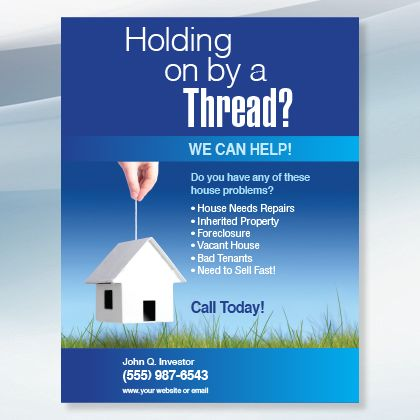 Holding On New Investor Graphics Real Estate Flyers Real Estate Marketing Real Estate Investor