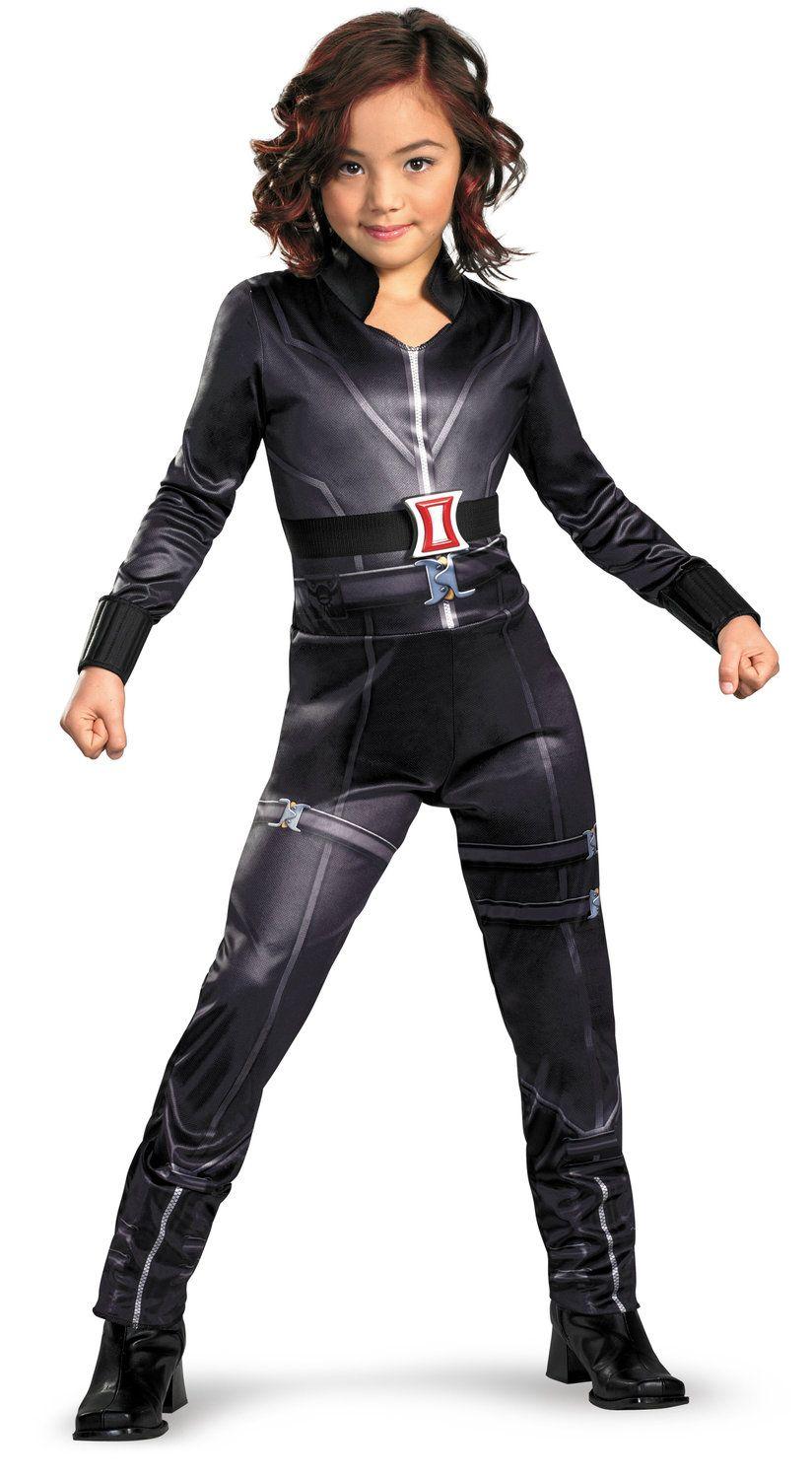 female superhero costumes for kids | girls black widow avengers movie kids costume kids superhero costumes ...