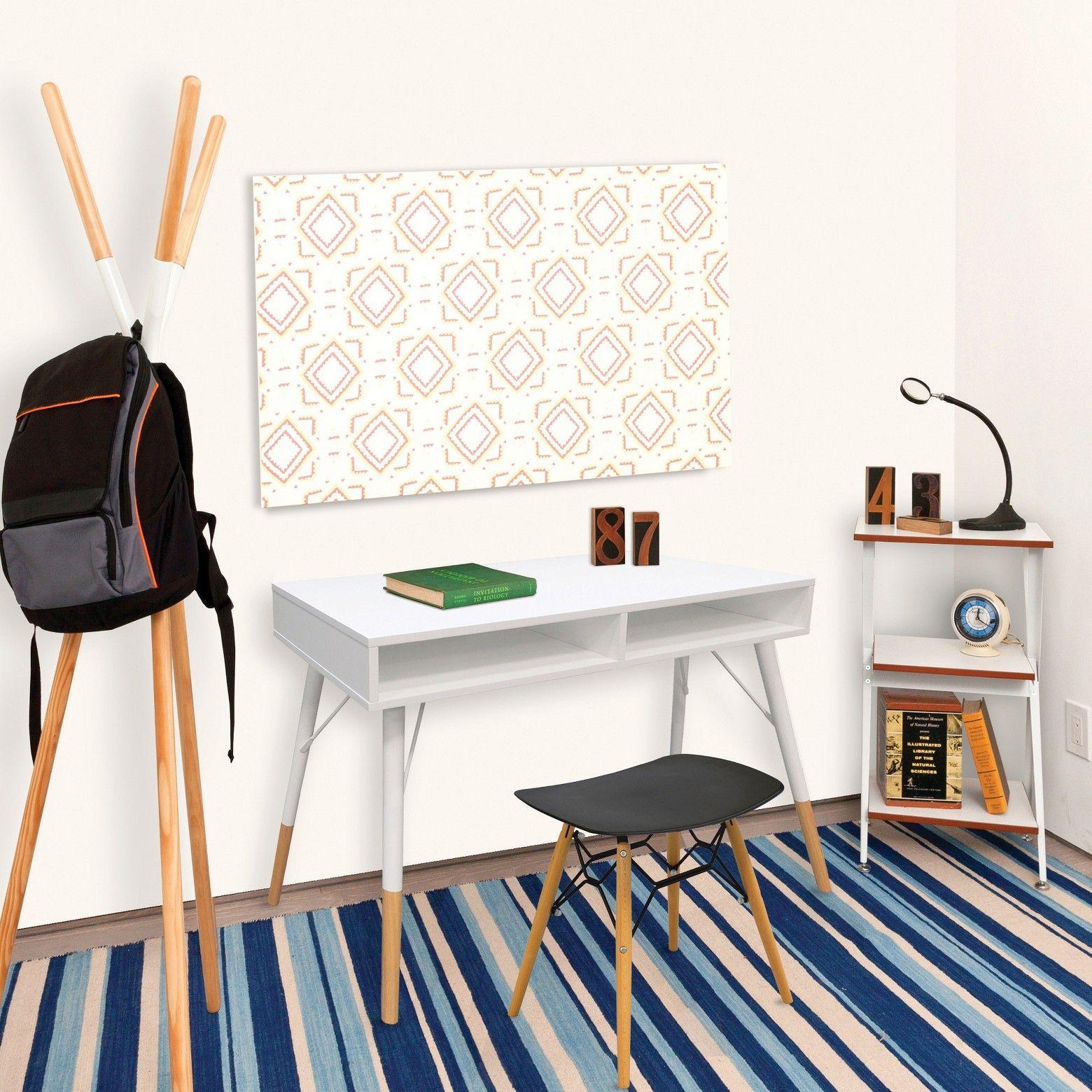 Urban pocket desk white maple urb space abbyus room