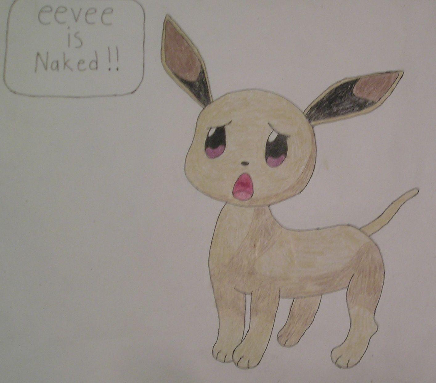 Eevee is Naked !!