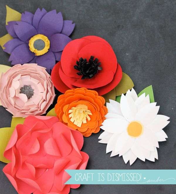 Easy paper punch flowers from damask love blog quick and easy easy paper punch flowers from damask love blog quick and easy photo tutorials mightylinksfo Images