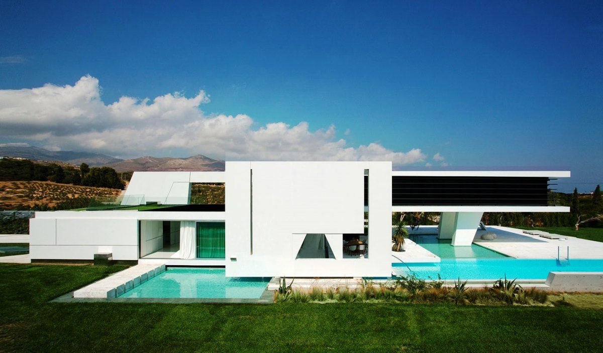 exterior design of small houses and Modern and Luxury Home ...
