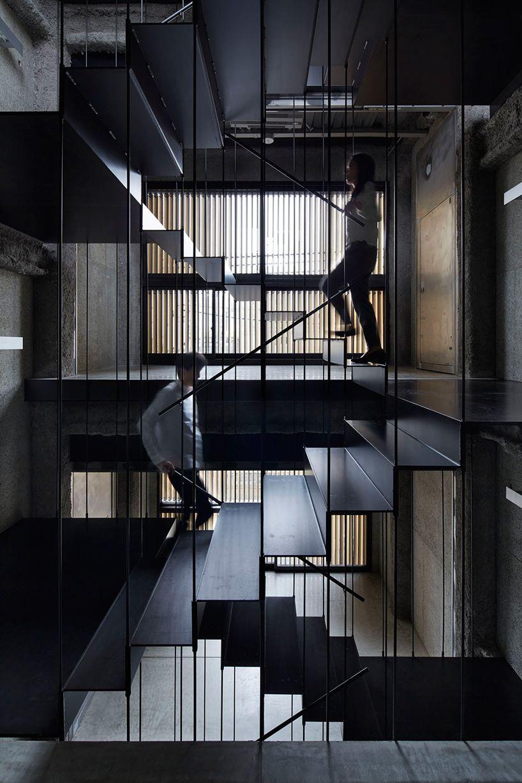 Captivating Durch Die Nacht   Vertikale Bar In Kyoto Von Florian Busch (Step Design) Good Looking