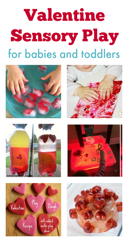 Valentine Sensory Play For Babies And Toddlers