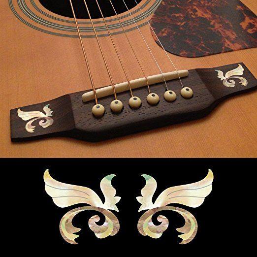 Bridge Guitar Decals 5 95 Guitar Acoustic Guitar Guitar Inlay