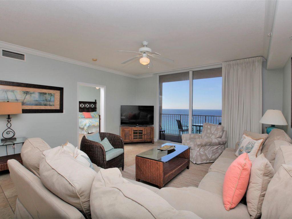 Tidewater Beach Resort 3 Bedroom Rental In Panama City Beach, Fl   Sleeps 10