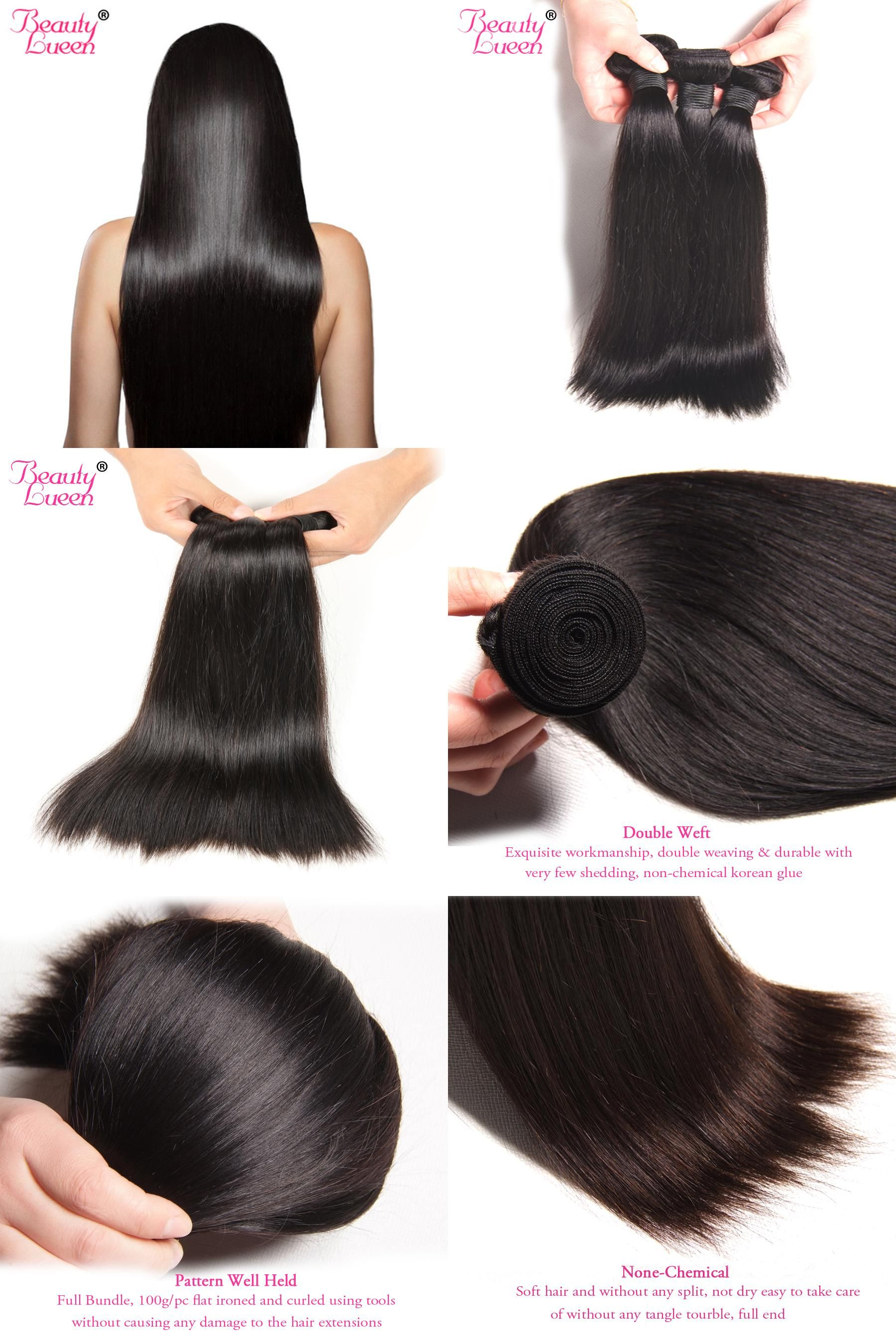 Visit To Buy Malaysian Straight Hair Bundles 100 Human Hair