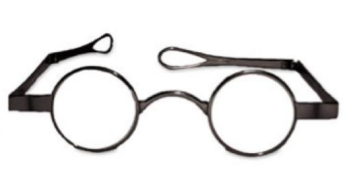 Funky Little Round Eyeglasses 30mm Gl791 Round Eyeglasses Eyeglasses Dark Pewter